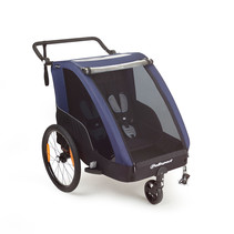 Polisport kids trailer voor fietsen en wandelen gr