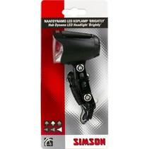 Simson koplamp Brightly auto/aan/uit dynamo 70 lux