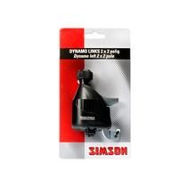 Simson dynamo links rubber loopwiel