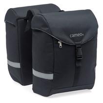 Cameo fietstas dubbel Sports bag black
