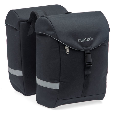 CAMEO Cameo fietstas dubbel Sports bag black