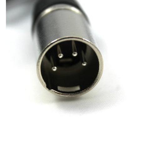 MERKLOOS Acculader XLR 4-pins Neutrik 36V 2A - o.a. Quick