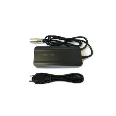 MERKLOOS Acculader XLR 4-pins Neutrik 36V 2A PMU3 - o.a.