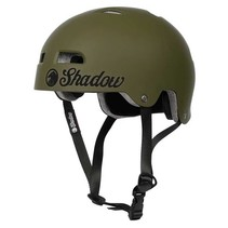 Helm matte army green XS