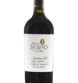 Valle Secreto Valle Secreto Carmenere First Edition