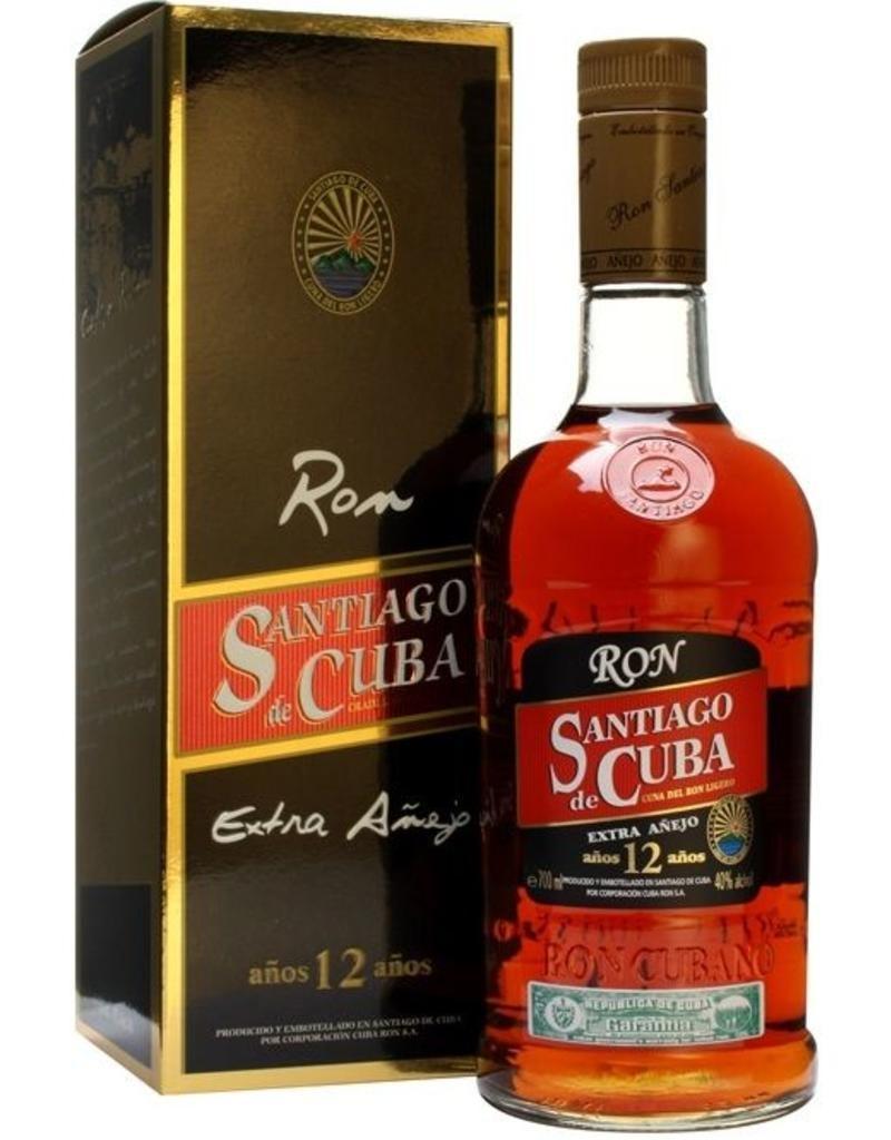 SANTIAGO Santiago de Cuba Anejo Superior 12 Year old