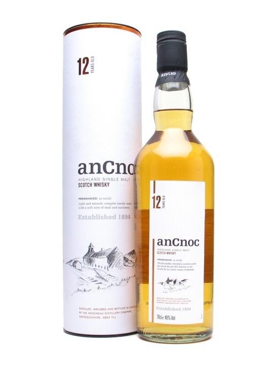 ANCNOC AnCnoc 12 Years old, Highland Single Malt