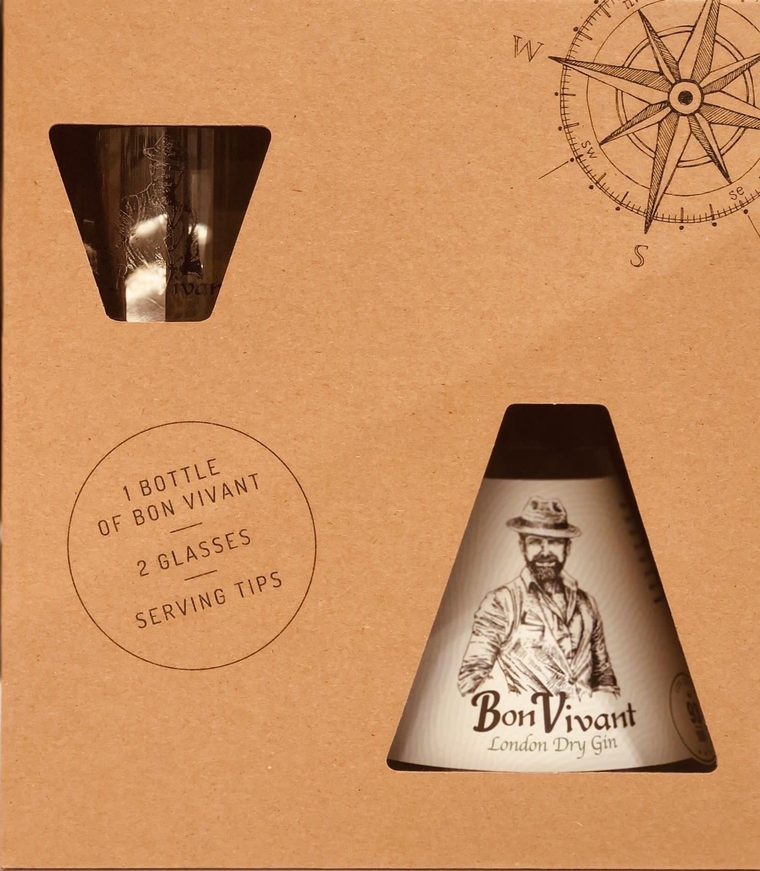 Bon Vivant bon vivant gift set gin