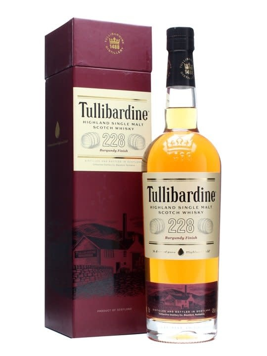 TULLIBARDINE Tullibardine 228 Burgundy Finish, Highland Single Malt