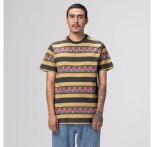 HUF Monarch Stripe S/S Knit Top