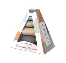 Stacking Stones Eraser Set