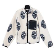 Stüssy Mask Jacquard Sherpa Jacket
