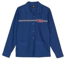 Stüssy Checker Work Ls Shirt