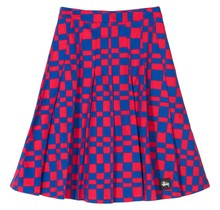 Stüssy Women Sabi Checker Pleated Skirt