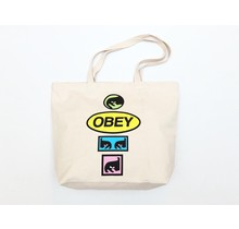 Obey Stacked Tote Bag