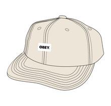 Obey Bold Label Organic Cap
