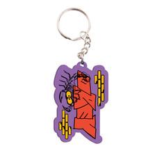 Obey Scorpion Keychain