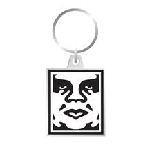 Obey Icon Metal Keychain