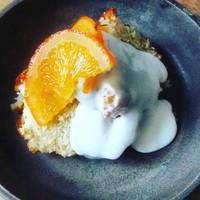 Citroen - tijmcake met geitenyoghurt