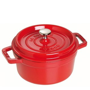 Staub Cocotte rood - kers