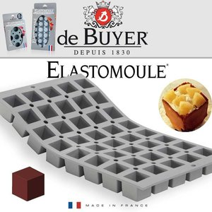 De Buyer Elastomoule Mini kubus