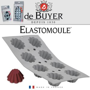De Buyer Mini briochettes Elastomoule