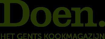 Doen, het Gents kookmagazijn