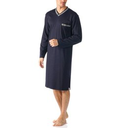 Mey Night Basics Nightshirt Indigo