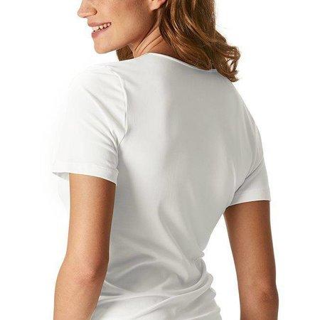 Mey Emotion Short Sleeved Top White