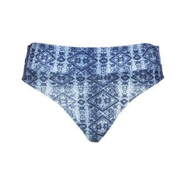 LingaDore Beach Indigo Brief Foldable Waist Jeans Print