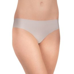 Felina Contourelle Solid Thong Light Taupe