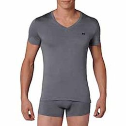 HOM Modal Sensation T-Shirt Grey Combination