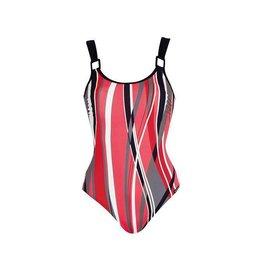 Sunmarin Port Louis Bathing Suit Red