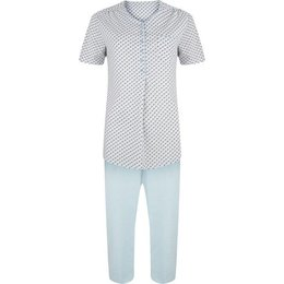 Pastunette Pyjama Set Capri Light Syan