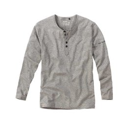 Tom Tailor Bottoms-Down Shirt Long Sleeves Darkgrey Melange