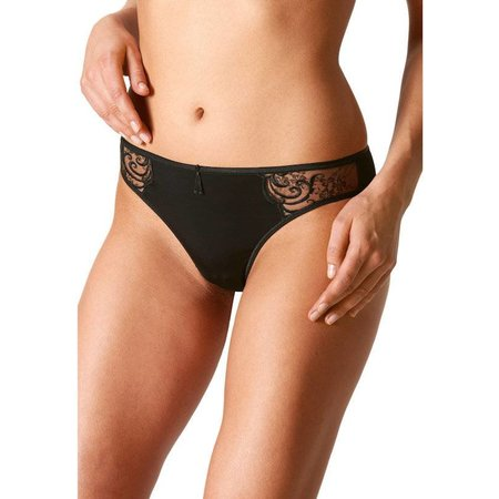 Mey Cecile Thong Black