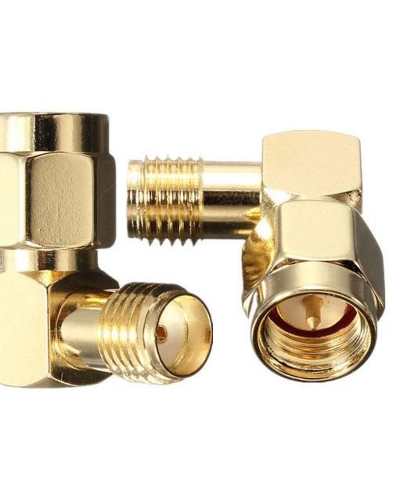 SpeedDrones Hoekstukje van 90 graden SMA antenne connector
