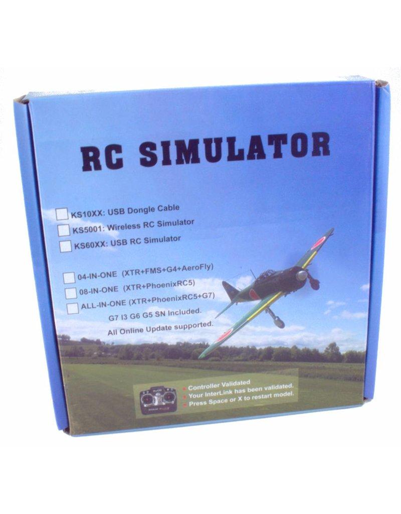 USB zender aansluiting voor Simulator