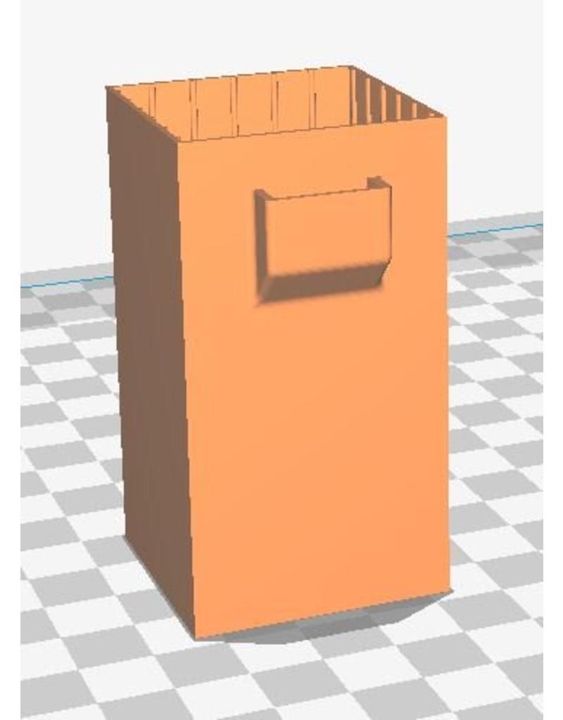 3D print Sleeve voor over 1550 Mah LiPo batterij