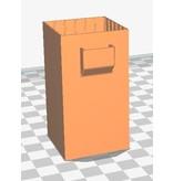 3D print Sleeve voor over 1300Mah LiPo batterij