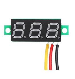 Voltage meter - groen