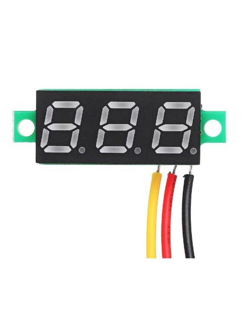Voltage meter - wit