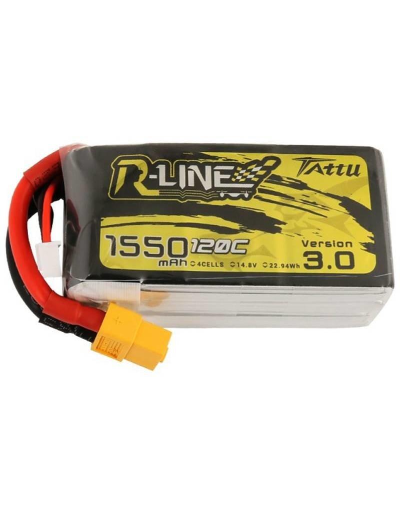Genspow Tattu LiPo - 1550mAh - 4S - 120C - R-Line 3.0
