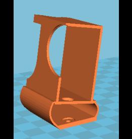 3D print Gopro Hero 3 / Hero 4 gedempte houder voor Squirt, Geyser, Nutmeg