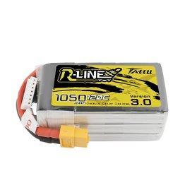 Genspow Tattu LiPo - 1050mAh - 6S - 120C R-Line 3.0