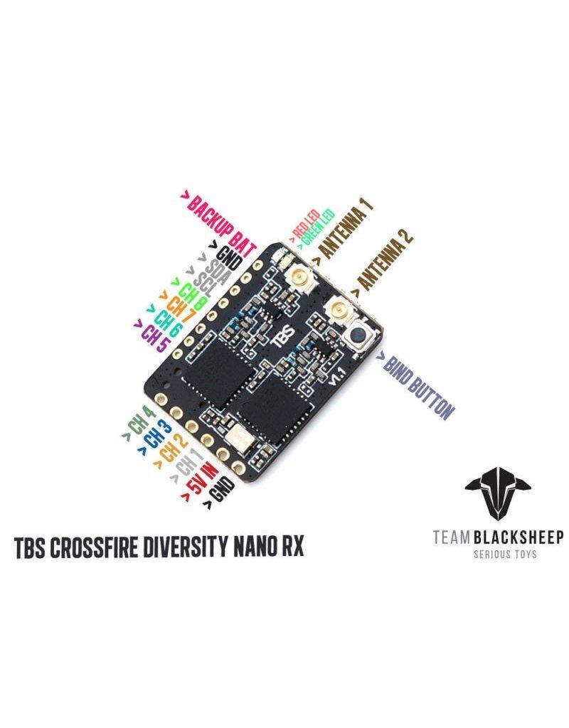 Team Black Sheep Team Blacksheep Crossfire Diversity Nano Rx