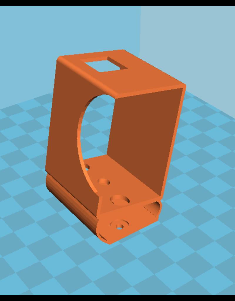 3D print Nikon Keymission 170 gedempte houder voor Squirt, Geyser, Nutmeg