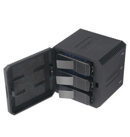 RuigPro 3x Oplader voor GoPro Hero 5 - 6 - 7