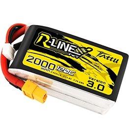 Tattu R-line 3.0 LiPo - 2000Mah - 120C - 4S