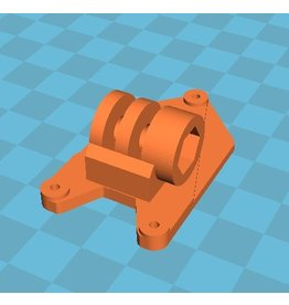 Speeddrones iFlight Bumblebee Hero 8/9 - Insta360 clip mount